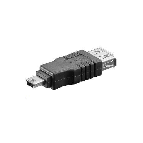 Adapter USB A-B mini F-M