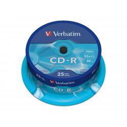 Verbatim CD-R 80min 700mb 52X 25stk