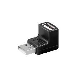 MicroConnect USB 2.0 adp A-A 90 vinkel