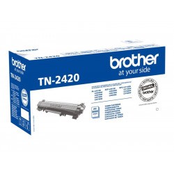 Brother TN 2420 Sort 3000 sider
