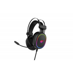 Havit Gaming Headset RGB Sort H2016d