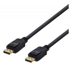 Deltaco Displayport kabel 5M 4K UHD v1.2