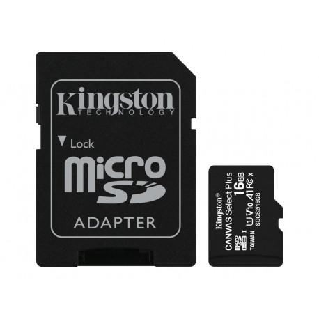 Kingston Canvas Select+ 16GB microSDHC