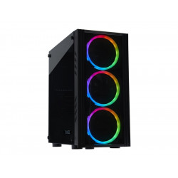 FOURZE - T160 Micro ATX Kabinet Rainbow