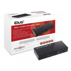 Club 3D 4K HDMI Splitter 4 port