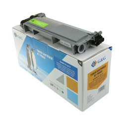 G&G Brother kompatibel TN2320 toner Sort