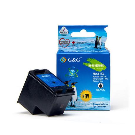 G&G HP 301XL Sort Kompatibel Blækpatron