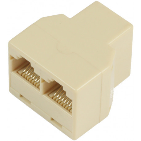 MicroConnect RJ45 Ethernet Y-Adapter
