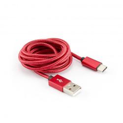 Sbox USB til USB-C 1,5 Meter Rød
