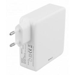 Deltaco 87W USB-C Oplader Hvid