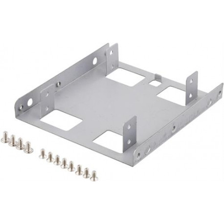 "Deltaco Monteringsramme for 2x2,5"" HDD"