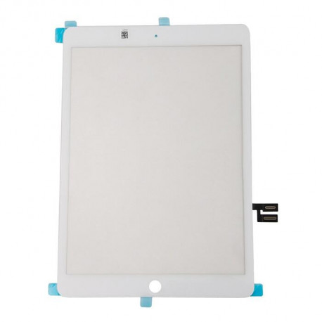 iPad 2019 Glas Reparation Hvid, OEM