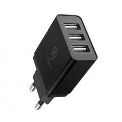 Amorus Oplader m. 3 USB-A Porte
