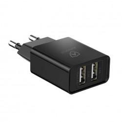 Amorus Oplader m. 2 USB-A Porte