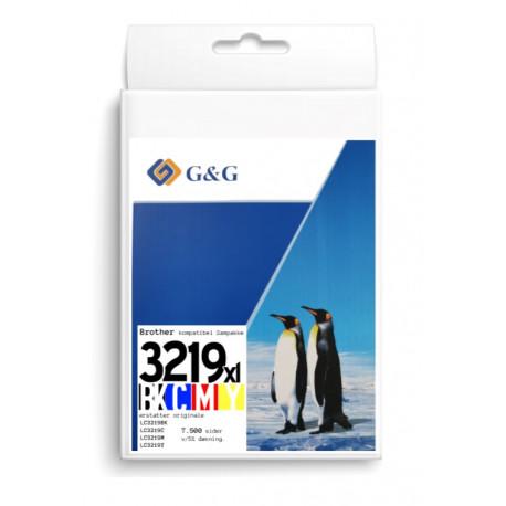 G&G Brother LC3219XL 7500 sider v5% samp