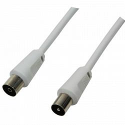 LogiLink Antennekabel 2,5M Hvid