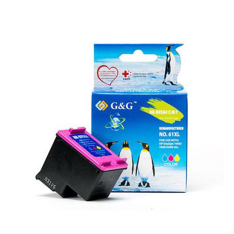 G&G HP 301XL Farve Kompatibel Blækpatron