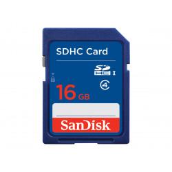 SanDisk SD Kort 16GB SDHC