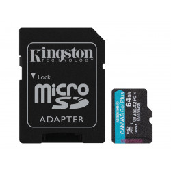 Kingston 64GB MicroSDXC 170MB/s