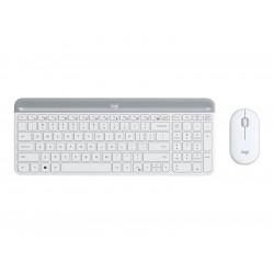 Logitech MK470 Slim trådløs tastatur/mus