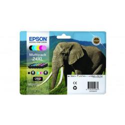 Epson 24XL Multipack Sort Gul Cyan Magen