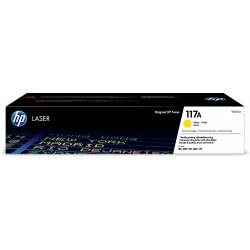 HP 117A Gul Laser toner, op til 700 side