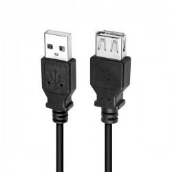 Logilink USB-A forlængerkabel 3m Han/Hun