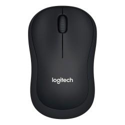 Logitech M220 Mus Silent Charcoal Black