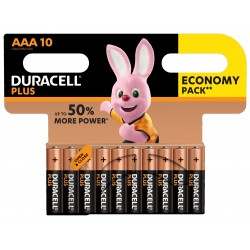 Duracell Plus Power AAA, CP 10 pack