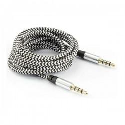 SBOX AUX kabel 1,5M Mini Jack hvid
