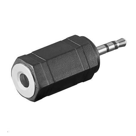 Logilink jack adapter 2.5mm - 3.5mm M-F