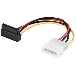 MicroConnect SATA Power 4pin-15pin 0,13m