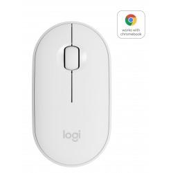Logitech Pebble M350 Trådløs mus Hvid