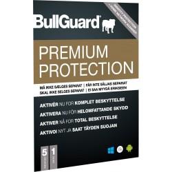 BullGuard Premium protection 1år 5 Enhed