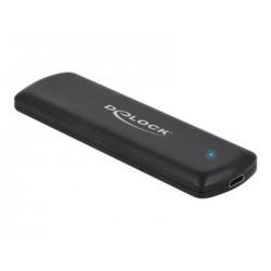 DeLOCK Ekstern USB 3.2 m.2 NVME/SSD