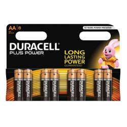 Duracell Plus Power AA Batterier 8pk
