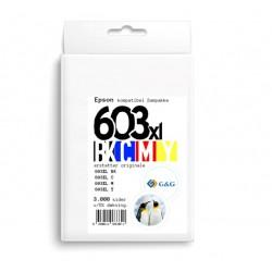 G&G kompatibel Epson 603XL sampakke