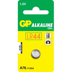 GP Batteries A76 Alkaline Cell, Alkaline