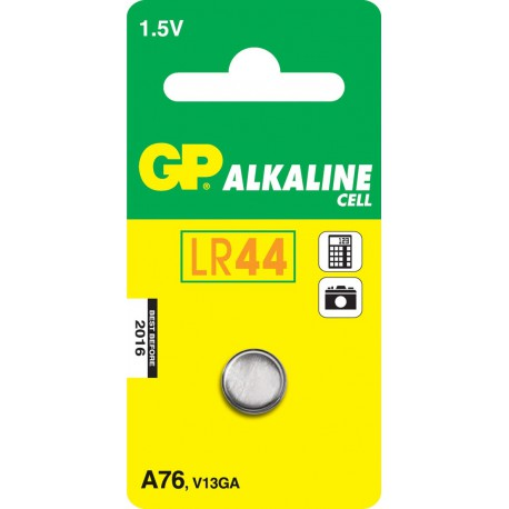 GP Batteries A76 Alkaline Cell, Alkaline