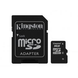 Kingston 8GB Micro SD HC Class 4 incl ad