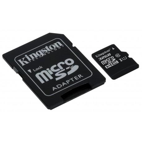 KINGSTON 32GB microSDHC Class10 UHS-I