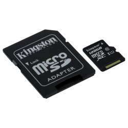 KINGSTON 128GB microSDXC Class10 UHS-I