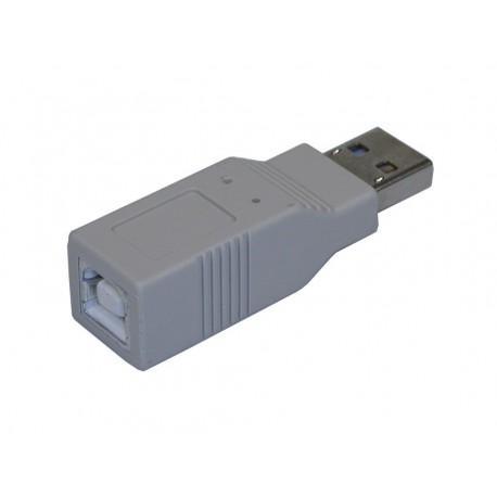 Sandberg Adapter USB A-han til B-hun