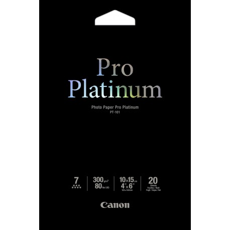 CANON PT-101 photo paper 4x6 20sh