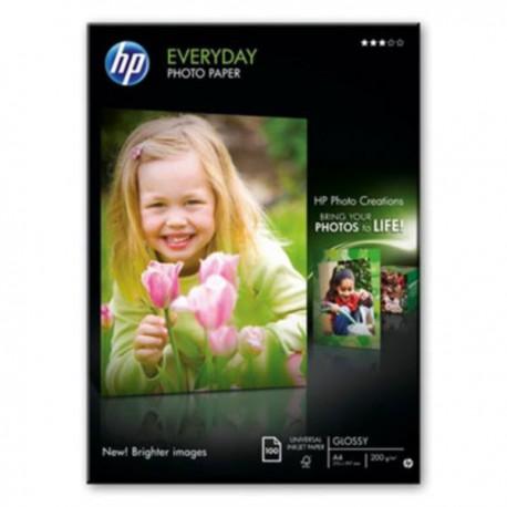 HP everyday Photo Paper, semi-glossy