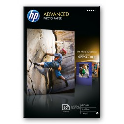 HP Advanced Photo Paper glossy 60 ark
