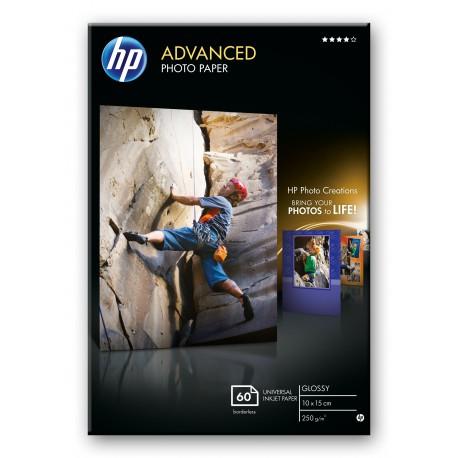 HP Advanced Photo Paper glossy 60 ark