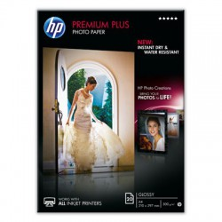 HP Premium Plus Glossy Photo Paper-20 sh