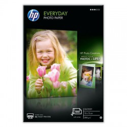 HP Everyday Photo Paper Glossy 100 sheet