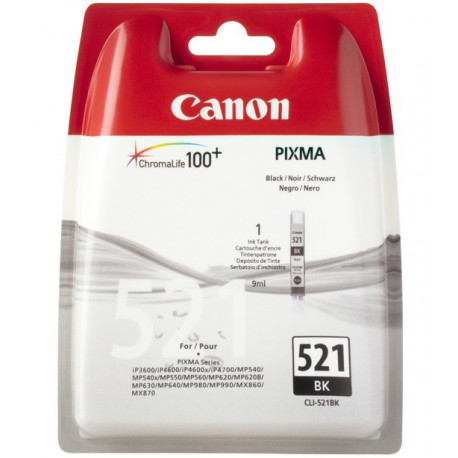 Canon CLI-521BK Photo sort